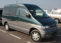rare mazda bongo green and silver for sale new uk