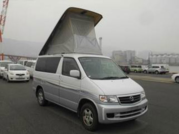 pearl white car for sale mazda bongo elavating roof