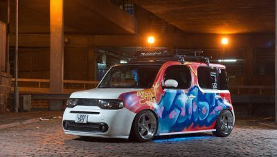 Nissan Cube and Nissan Cubic for sale uk registered direct import from Japan