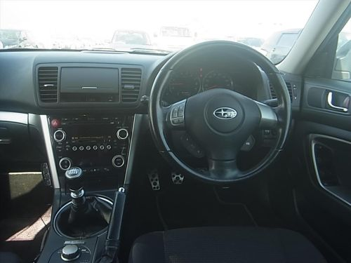 interior view and steering wheel
