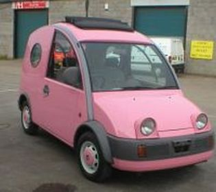 pink nissan s cargo escargot for sale