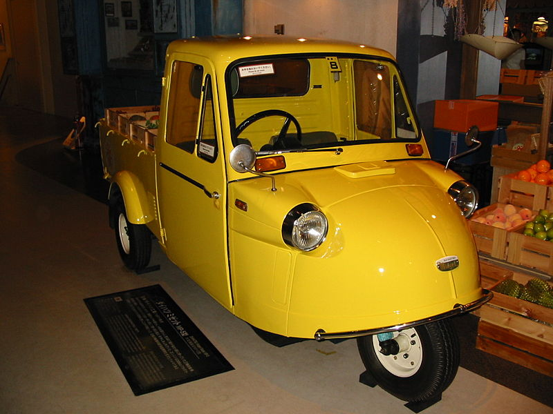 daihatsu midget flate bed in yellow for sale uk