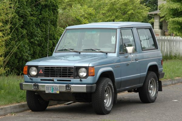 mitsubushi pajero year 1980 old and collectable now