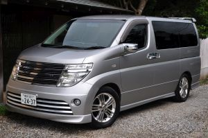 Nissan elgrand rider for sale silver.