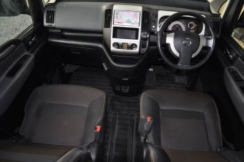 interior of nissan serena for sale