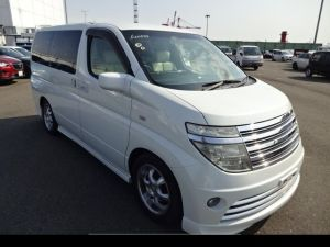 Nissan elgrand for sale white rider