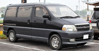 toyota regius and toyota granvia for sale uk registered