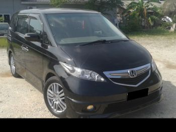 honda elysion for sale black uk reg
