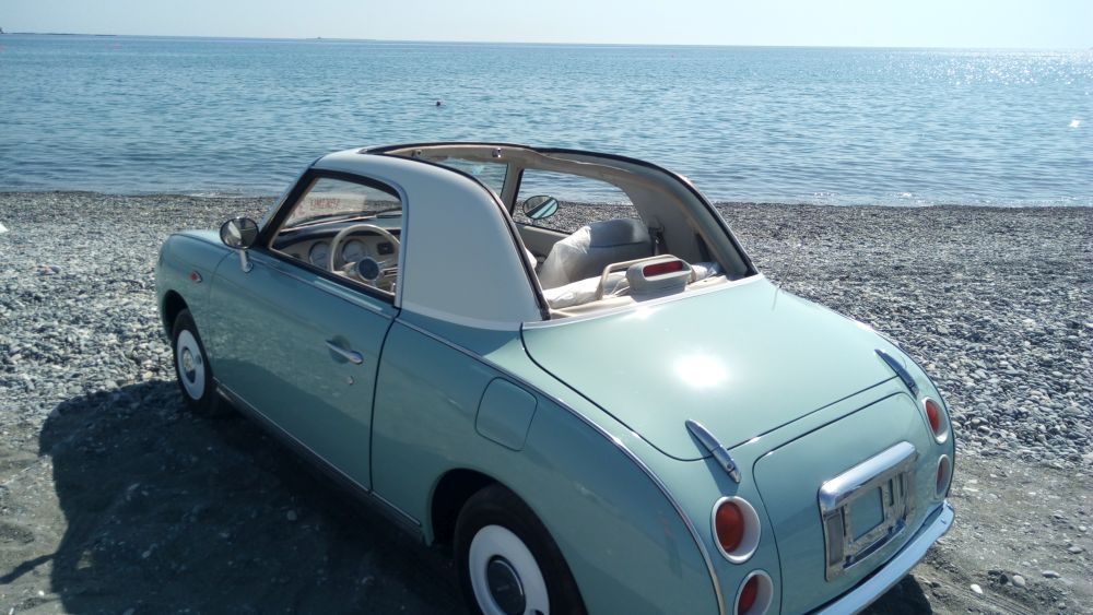 left hand drive nissan figaro LHD for sale USA