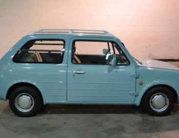 nissan pao blue original for sale algys autos.