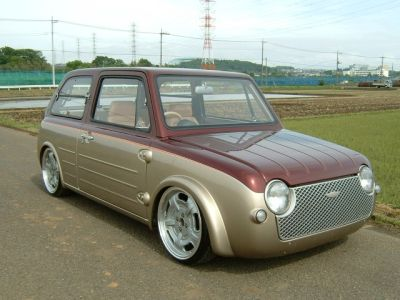nissan pao fully customised