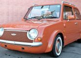 terracotta nissan pao for sale uk registered see algys autos.