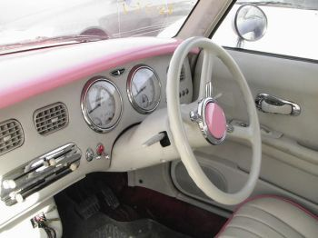 steering wheel left hand drive nissan figaro LHD for sale USA