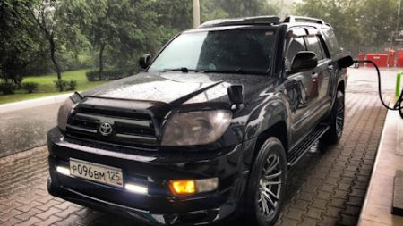 Toyota Hilux Surf for sale UK registered Algys Autos UK. best value in black