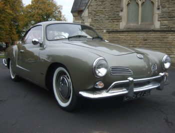 Grey VW Karmann Ghia Classic algys autos UK