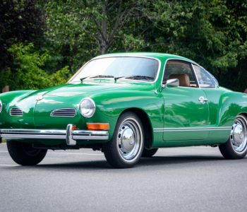 Green VW Karmann Ghia Japan Import fully UK