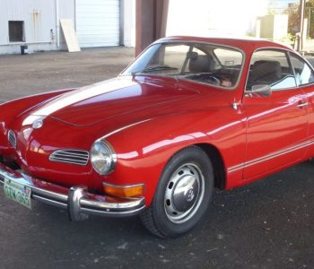 VW Karmann Ghia Japan Import fully UK registered