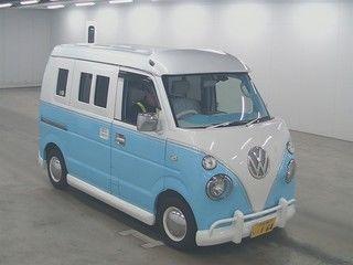 front view subaru samba vw campervan replica