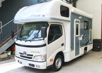 toyota camroad full campervan 4 berth