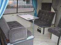 seating area toyota hiace