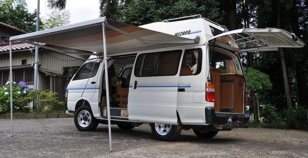 Toyota Hiace Campervans For Sale Import Cars From Japan