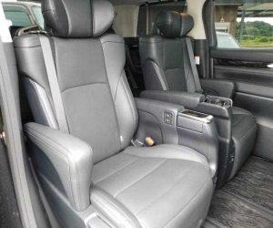 Toyota Alphard year 2016 interior