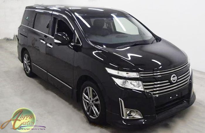 nissan elgrand E52 gen 3 for sale uk reg