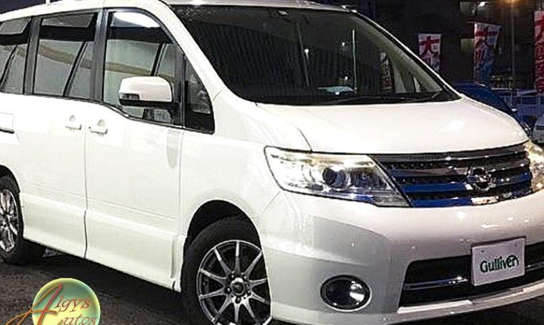 Nissan Serena Hybrid listing for sale algys autos UK