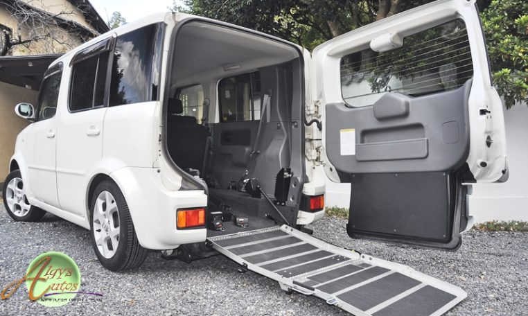 nissan cube spc disabled access uk