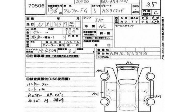 Toyota Alphard ref 5314 for sale algys autos
