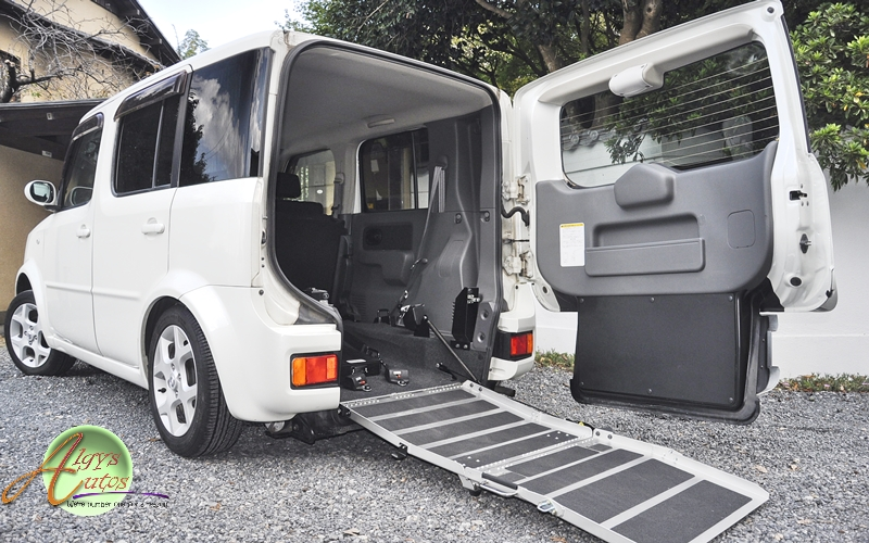 Nissan Cube WAV disabled access for sale UK