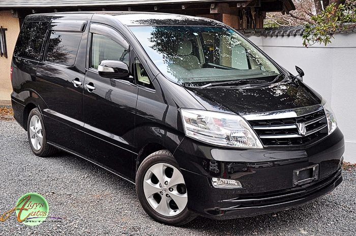 Toyota Alphard disabled access for ale UK registered Algys Autos UK