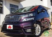 toyota vellfire fro sale uk registered