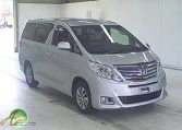 Toyota Alphard hybrid supplied for sale fully UK registered direct from Japan with V5 and Mot, algys autos best value in UK, fact!