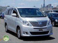 Toyota Alphard hybrid supplied for sale fully UK registered