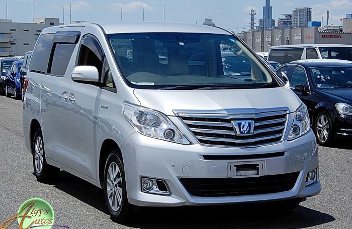 Toyota Alphard hybrid supplied for sale fully UK registered