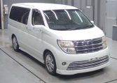 Nissan Elgrand Rider supplied for sale fully UK registered direct from Japan