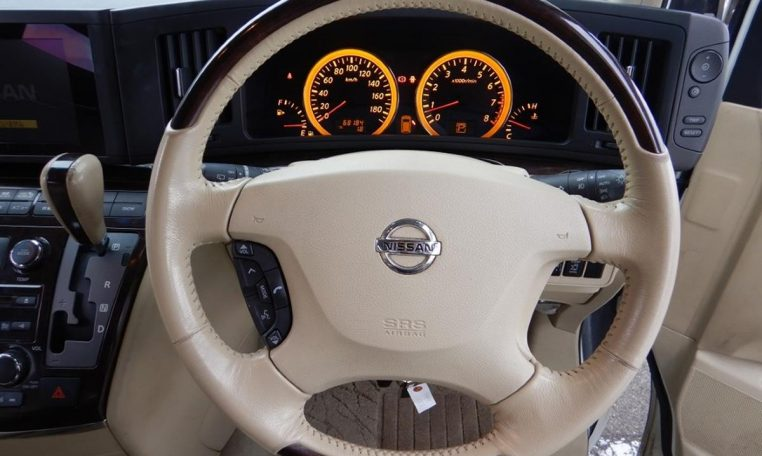 Nissan Elgrand Rider supplied for sale fully UK registered direct from Japan with