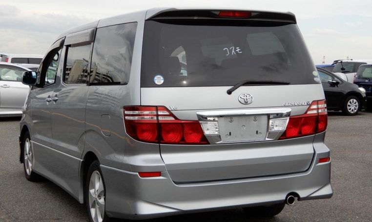 Toyota Alphard supplied for sale fully UK registered direct from
