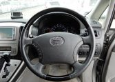 Toyota Alphard supplied for sale fully UK registered direct from Japan with