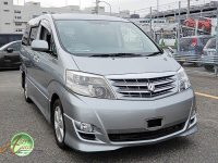 Toyota Alphard supplied for sale fully UK regi