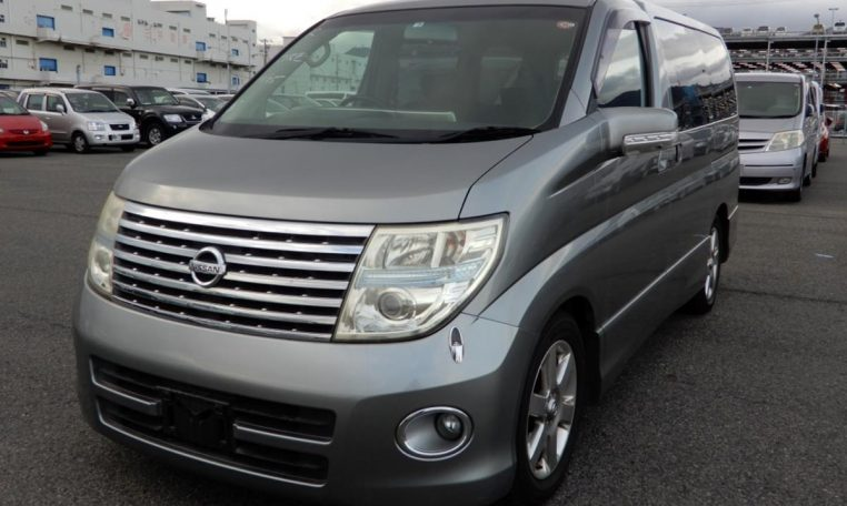 Nissan Elgrand Rider supplied for sale fully UK registered direct from Japan with V5 and Mot