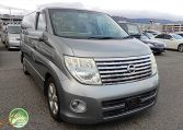 Nissan Elgrand Rider supplied for sale fully UK registered direct from