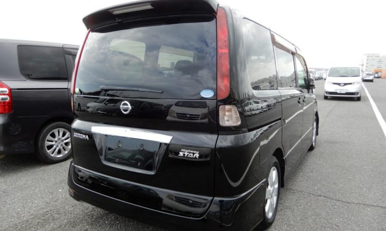 Nissan Serena supplied for sale fully UK registered direct from Japan with V5 and