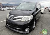 Nissan Serena supplied for sale fully UK registered direct from Japan