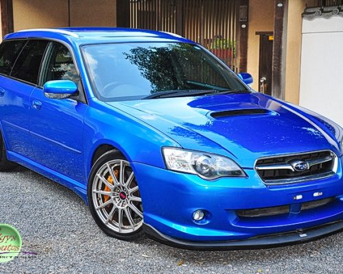 Subaru Legacy STi for sale UK registered direct from Japan and supplied fully UK registered.
