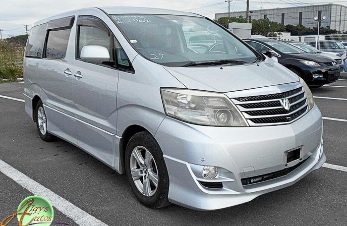 Toyota Alphard supplied for sale fully UK registered direct from Japan with V5