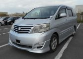 Toyota Alphard supplied for sale fully UK registered direct