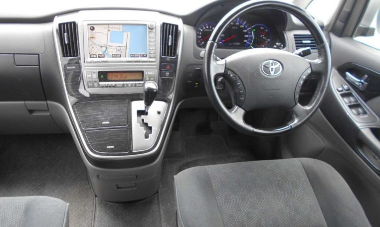 Toyota Alphard supplied for sale fully UK registered direct from Japan