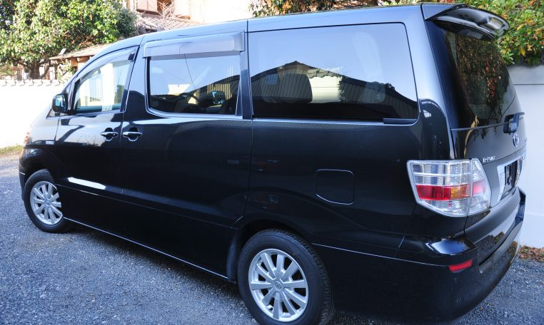 Toyota Alphard Hybrid supplied for sale fully UK